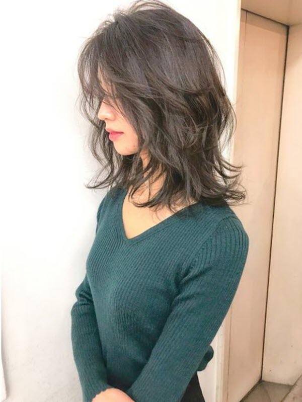 Kiểu tóc ngắn tỉa layer nữ