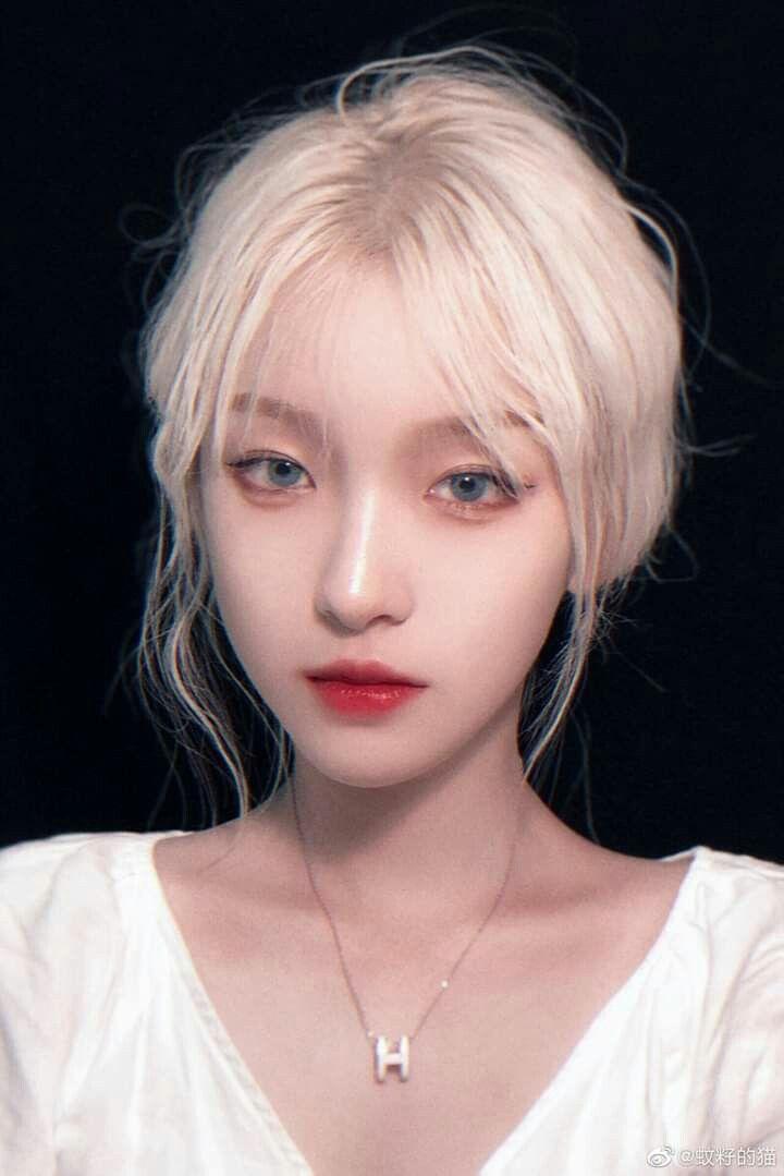Màu tóc bạch kim đẹp