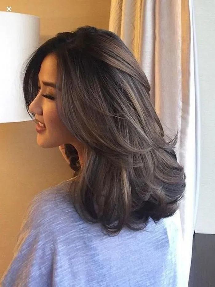 Mẫu tóc cụp Hàn Quốc