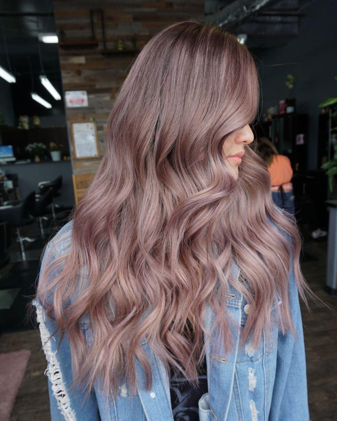 Màu tóc đẹp mới nhất