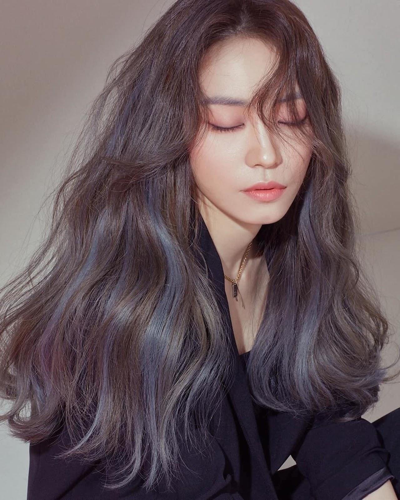 Màu tóc hightlight Hàn Quốc