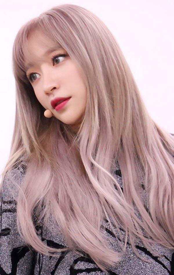 Màu tóc tẩy đẹp cho nữ