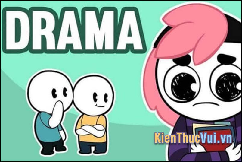 Drama thường bắt nguồn từ một bài đăng trong một nhóm nào đó với những nội dung nhục mà người khác