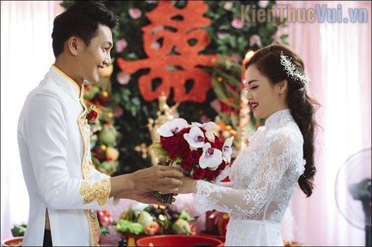 Lời cảm ơn của cô dâu, chú rể trong đám cưới