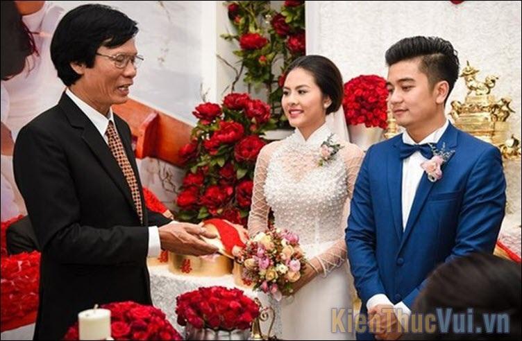 Lời cảm ơn trong đám cưới họ nhà gái