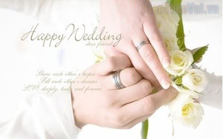 Những lời cảm ơn trong đám cưới hay nhất