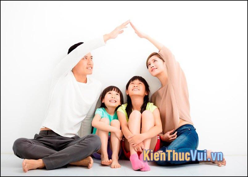 Cha mẹ luôn yêu con một cách vô điều kiện Anh em quý mến nhau và chăm sóc cho nhau không cần trả công