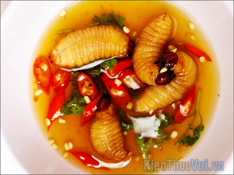 Đuông dừa tắm mắm – Miền tây Việt Nam