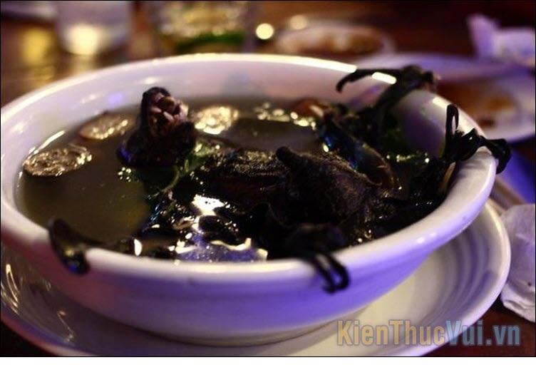 Súp rơi nấu rau củ - Đài Loan