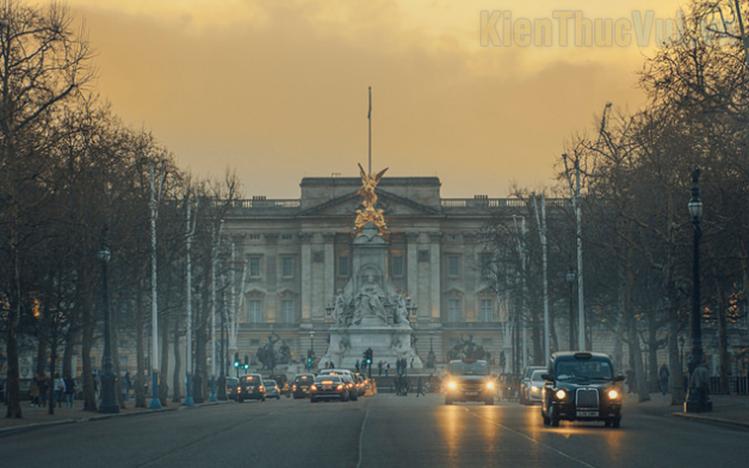 Hình ảnh cung điện Buckingham đẹp