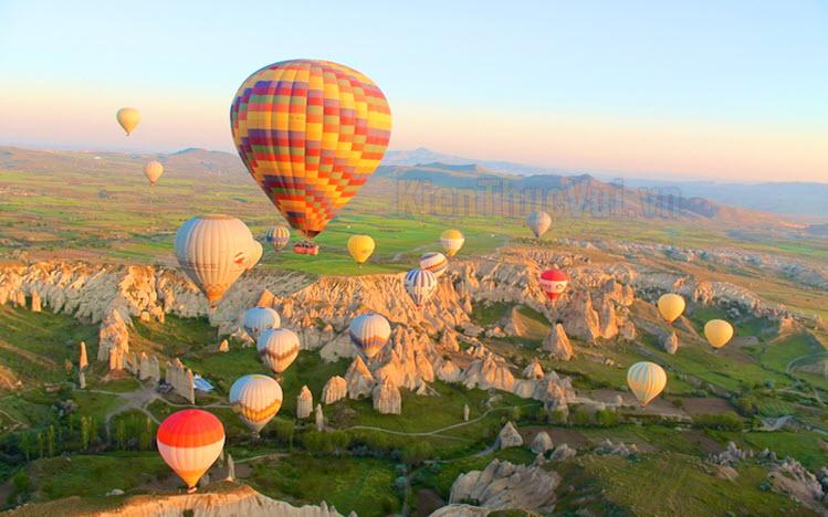 Hình ảnh khinh khí cầu đẹp