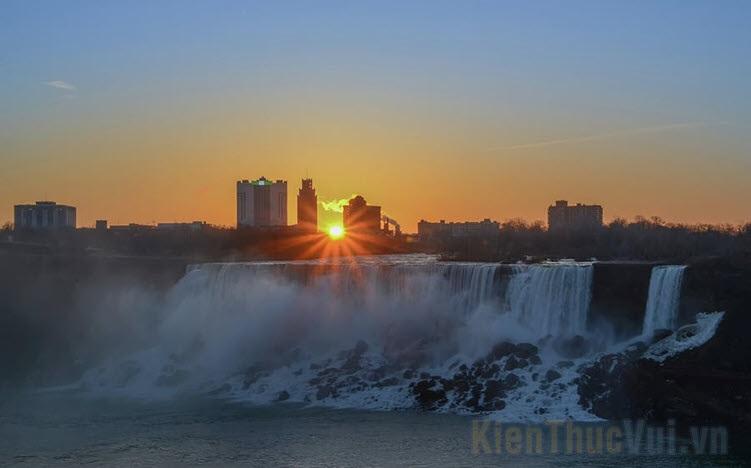 Hình ảnh thác Niagara đẹp