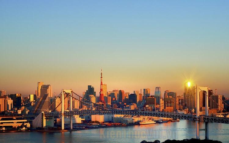 Hình ảnh tháp Tokyo đẹp