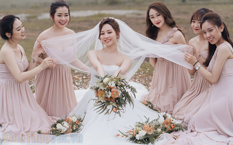 Những mẫu váy phù dâu đẹp nhất