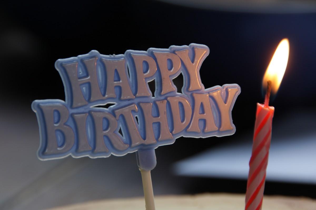 Ảnh chữ chúc mừng sinh nhật đẹp