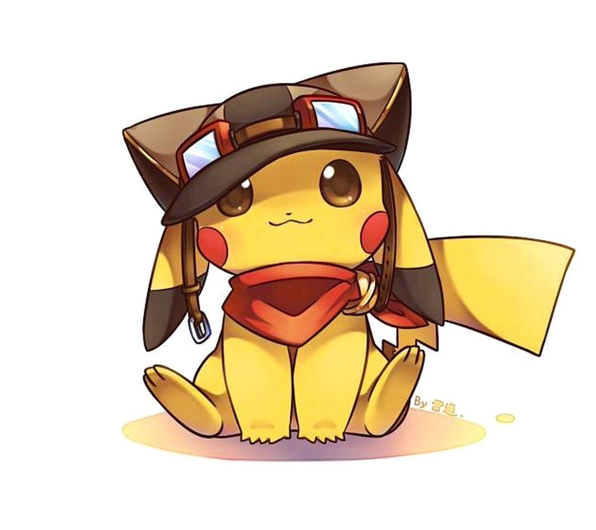 Ảnh đại diện pikachu dễ thương cho nữ