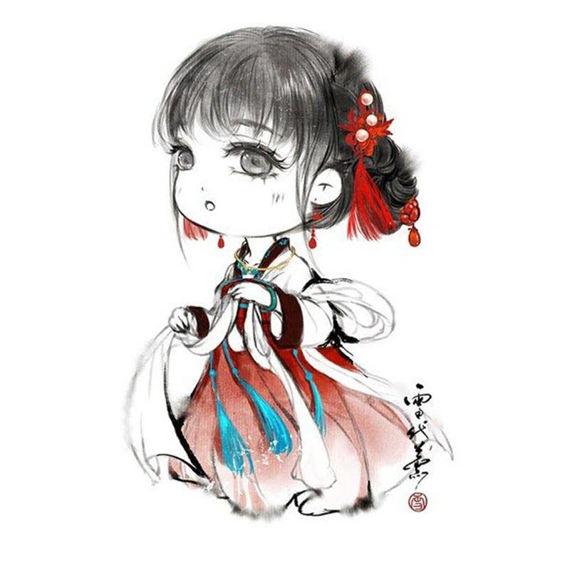 Avatar chibi cổ trang cực đẹp