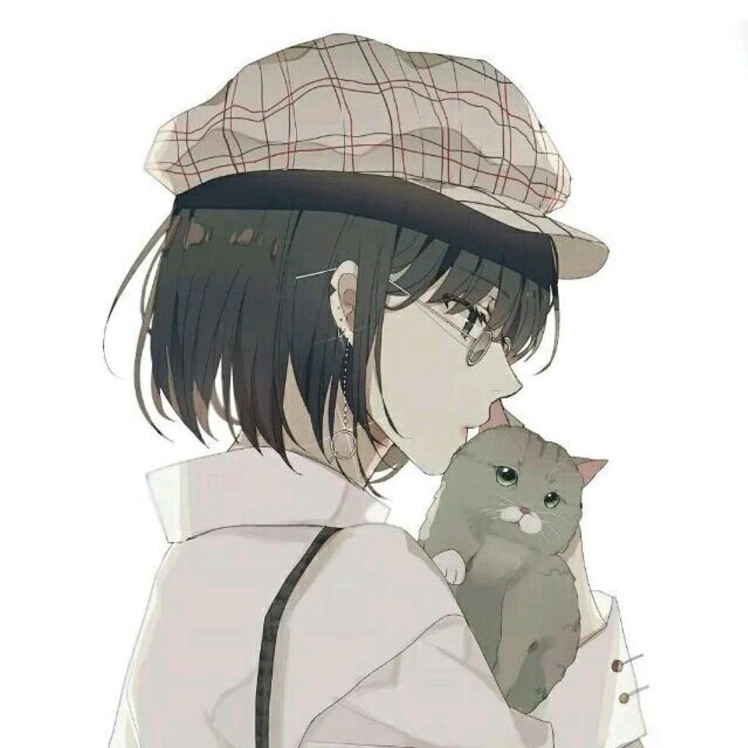Avatar cho nữ yêu mèo