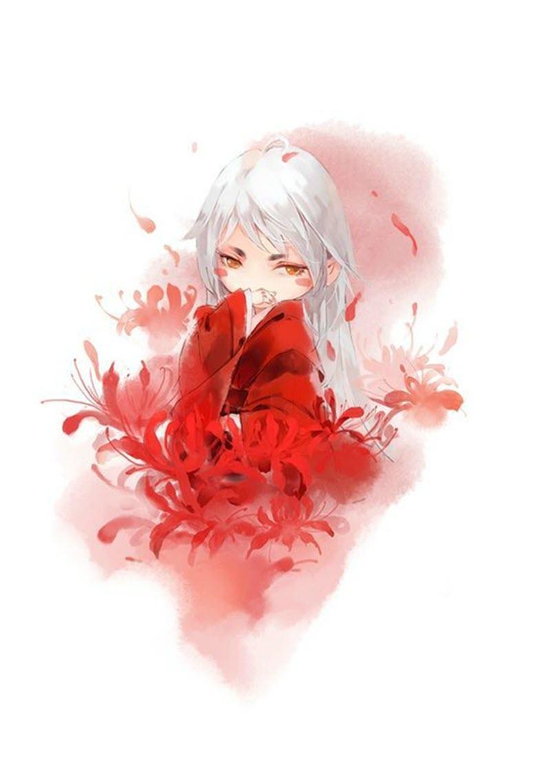 Avatar hình hoa bỉ ngạn cho nữ