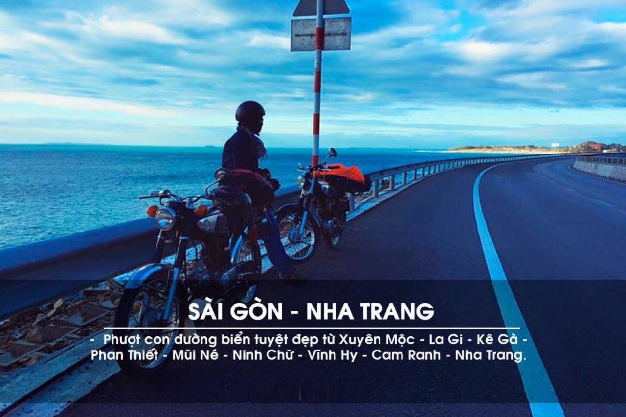 Ảnh các cung đường phượt từ Sài Gòn - Nha Trang