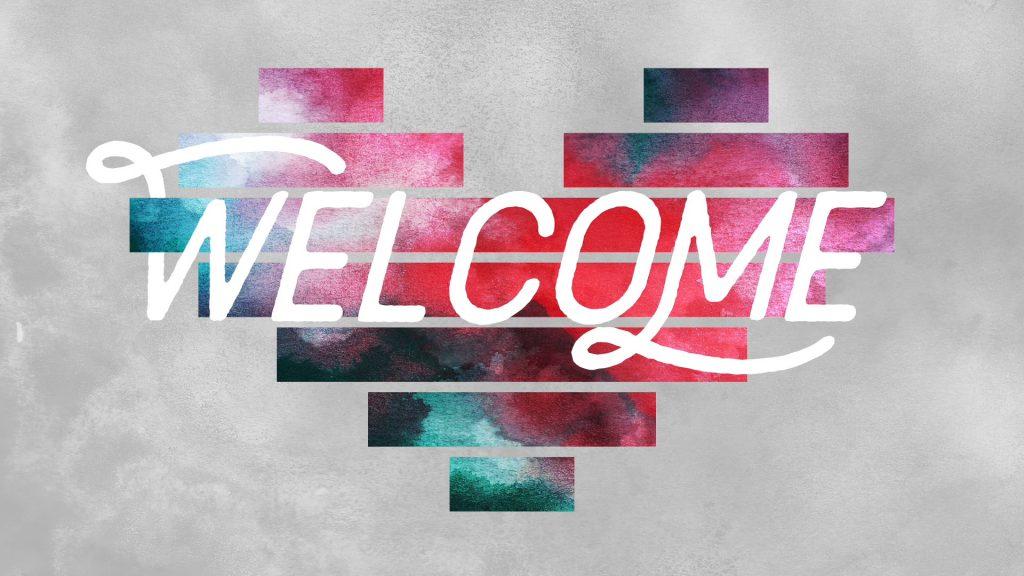 Ảnh slide Welcome đẹp xuất sắc
