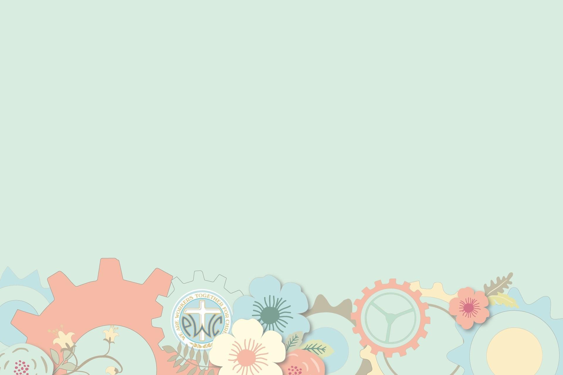 Background slide màu xanh