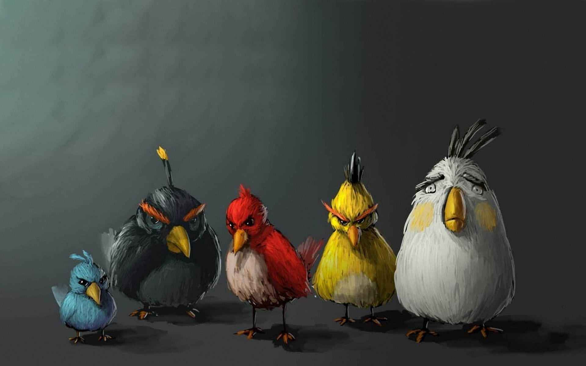 Hình nền Angry Bird cho máy tính