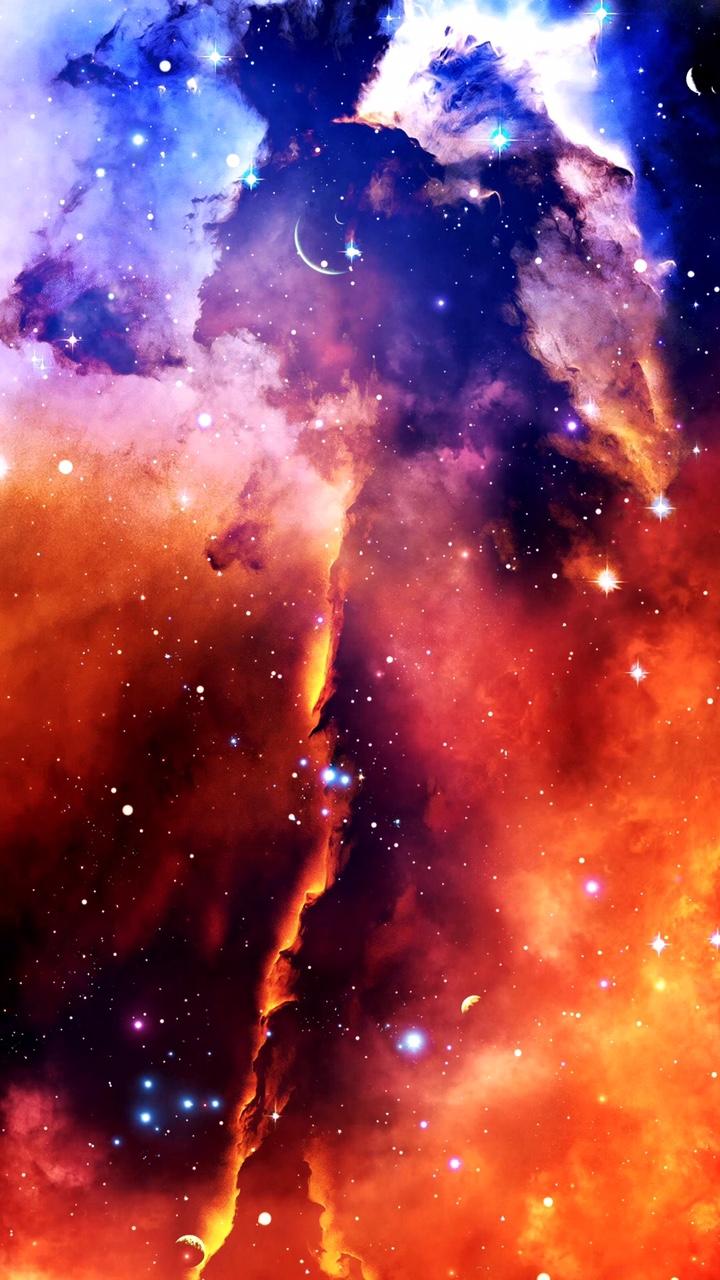 Hình nền dải ngân hà cho điện thoại