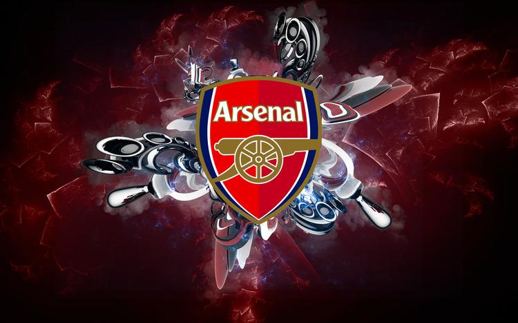 Hình nền máy tính logo tuyển Arsenal