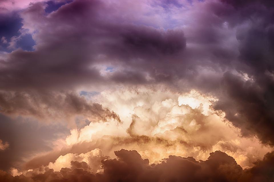 Ảnh bầu trời với những đám mây cực đẹp