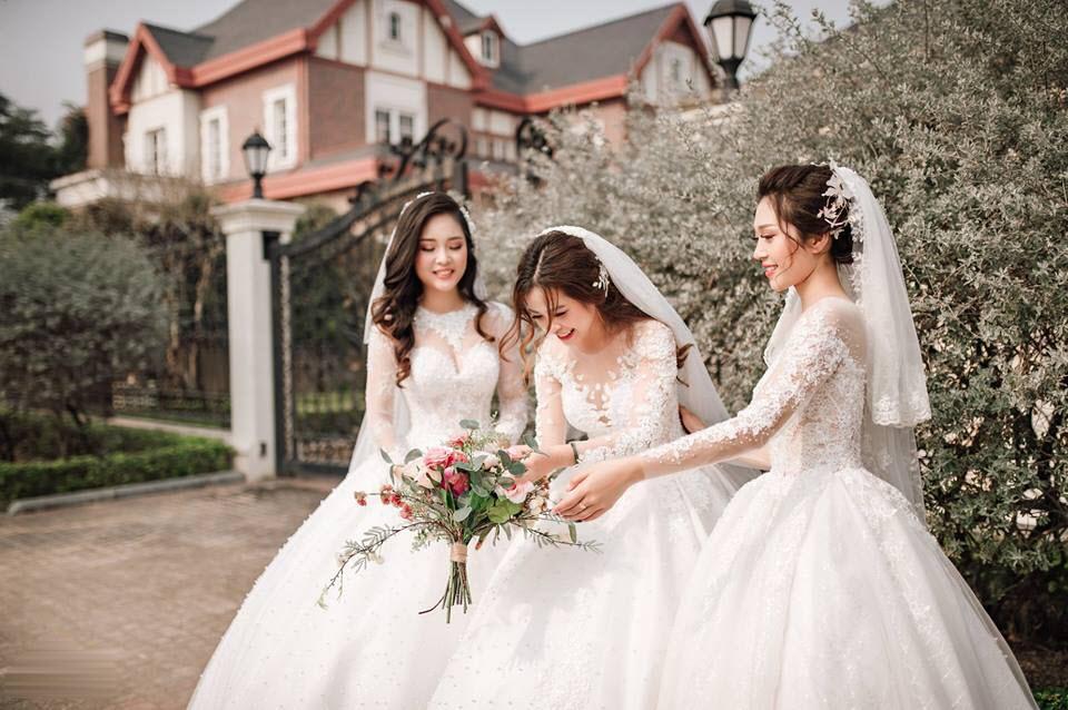 Ảnh chụp những cô dâu đơn thân