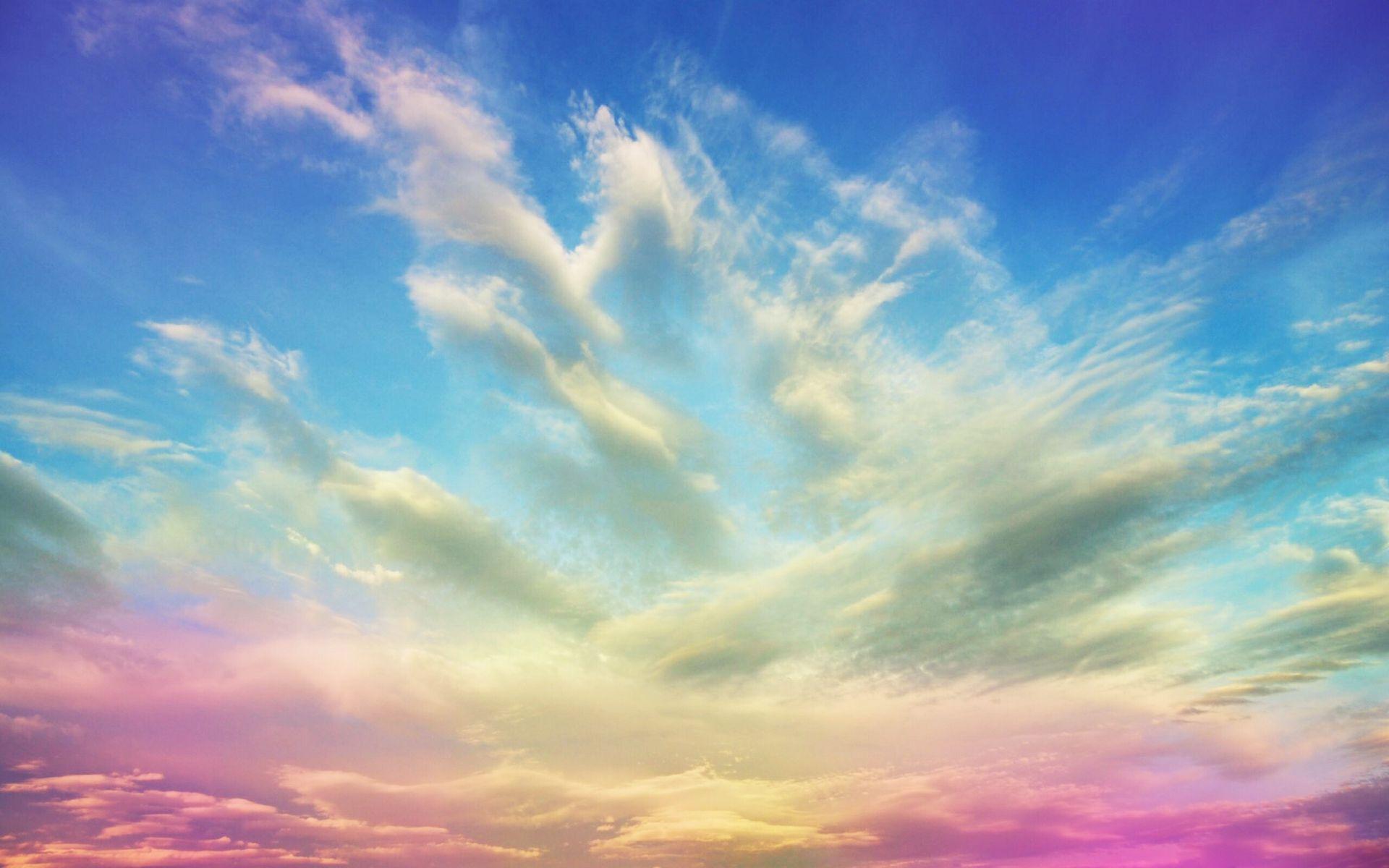 Ảnh mây ngũ sắc