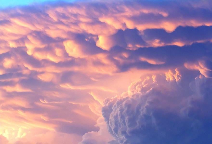 Ảnh mây tầng tầng lớp lớp