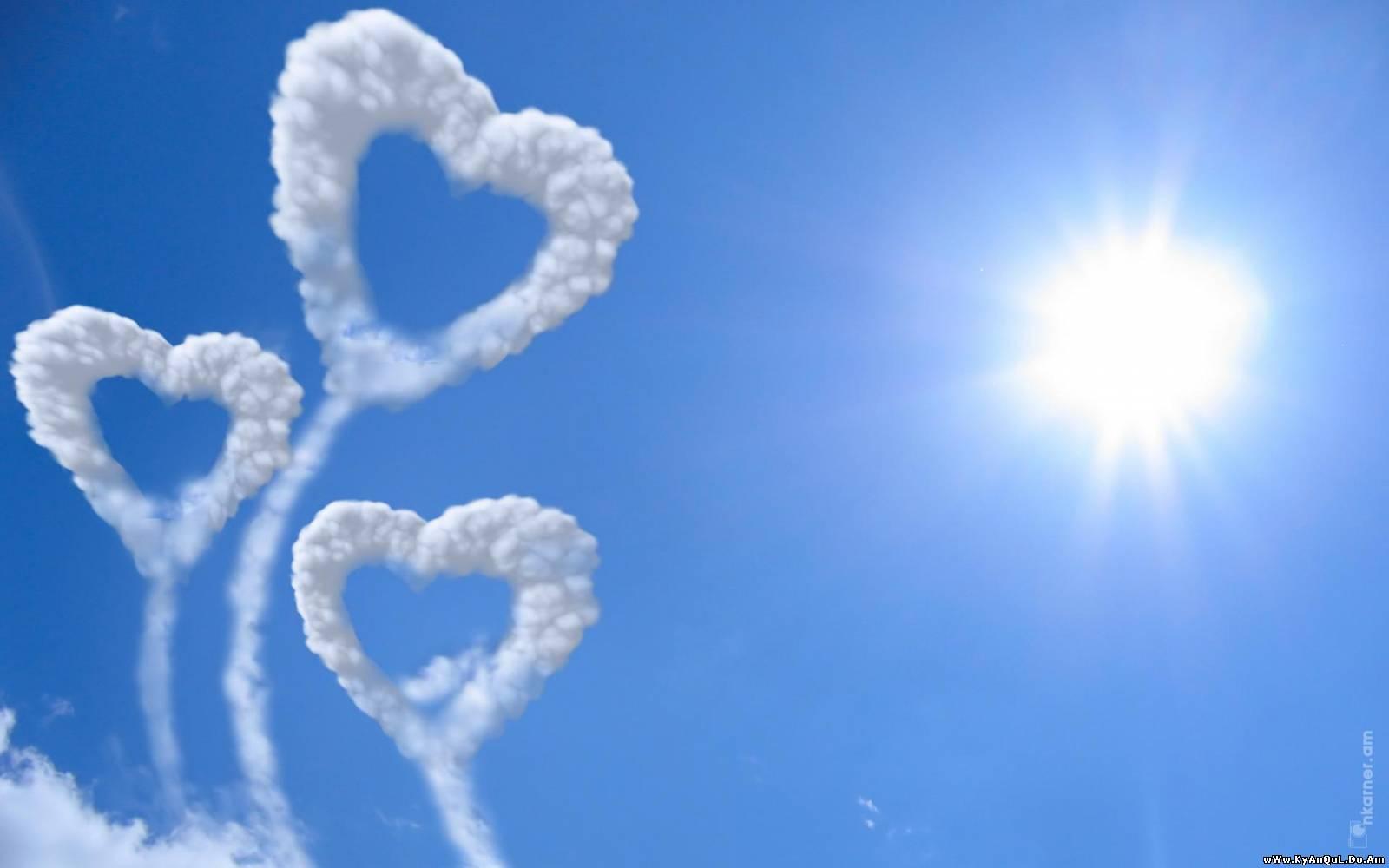 Ảnh mây trái tim