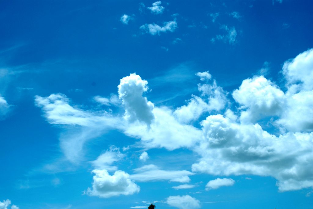 Ảnh mây trên bầu trời đẹp nhất