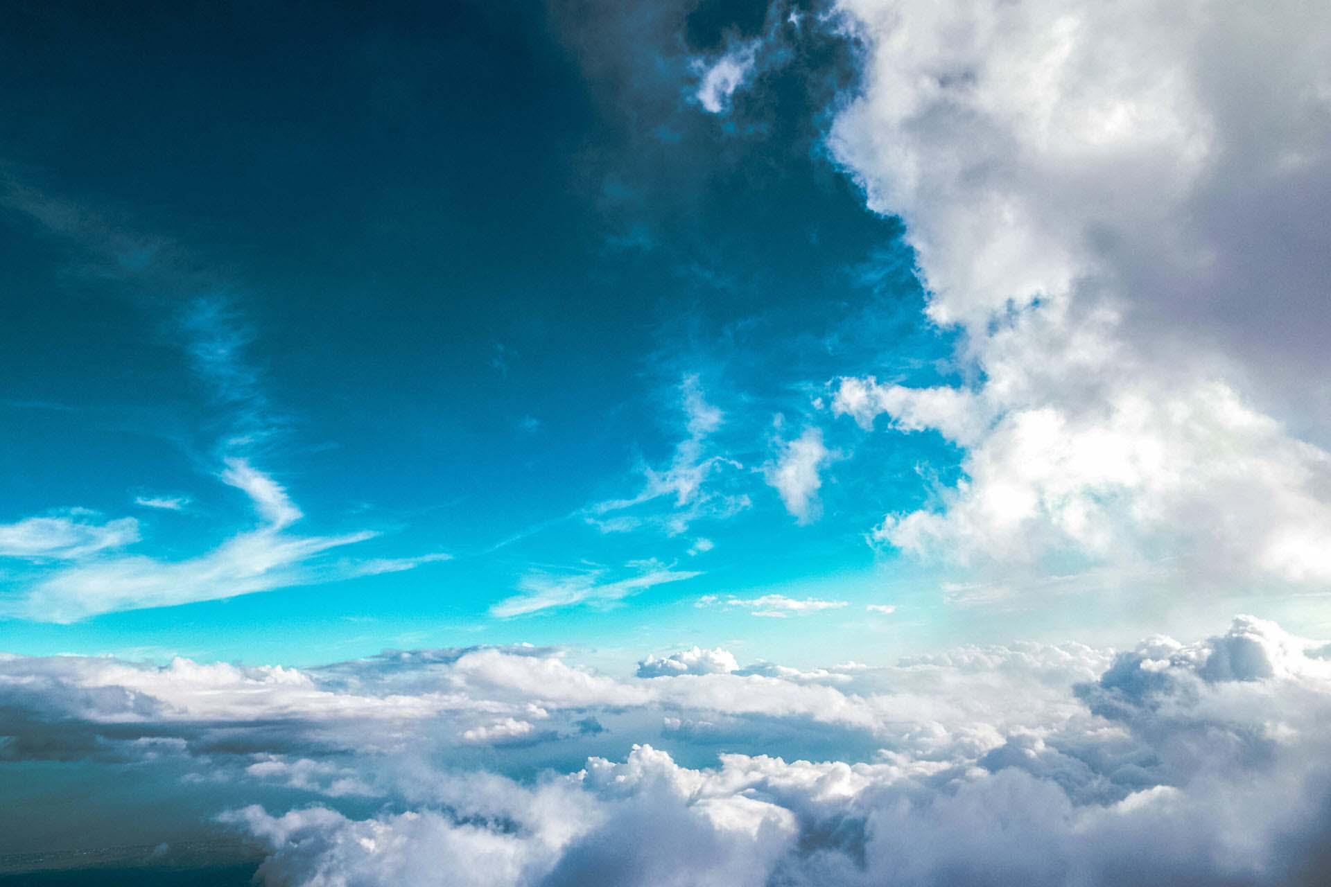 Ảnh mây trời lung linh huyền ảo