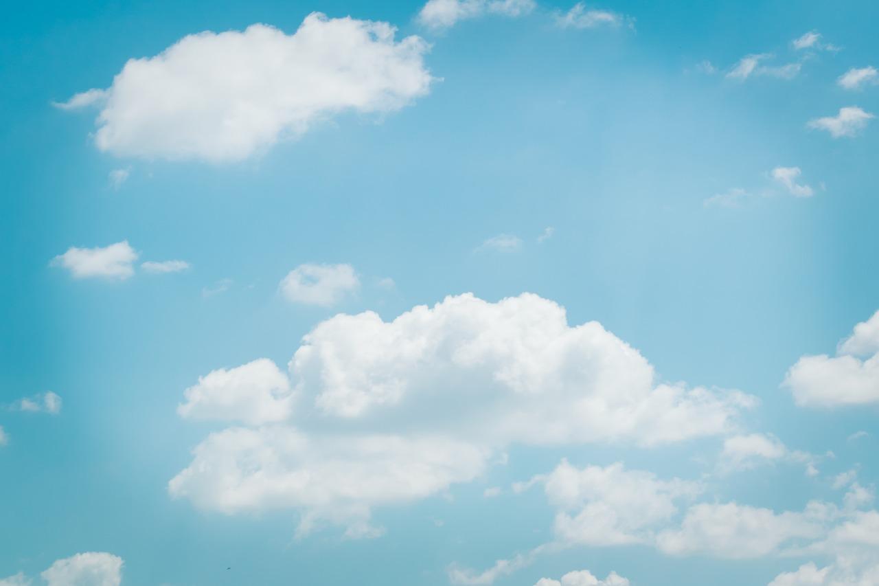 Ảnh mây trời trong veo