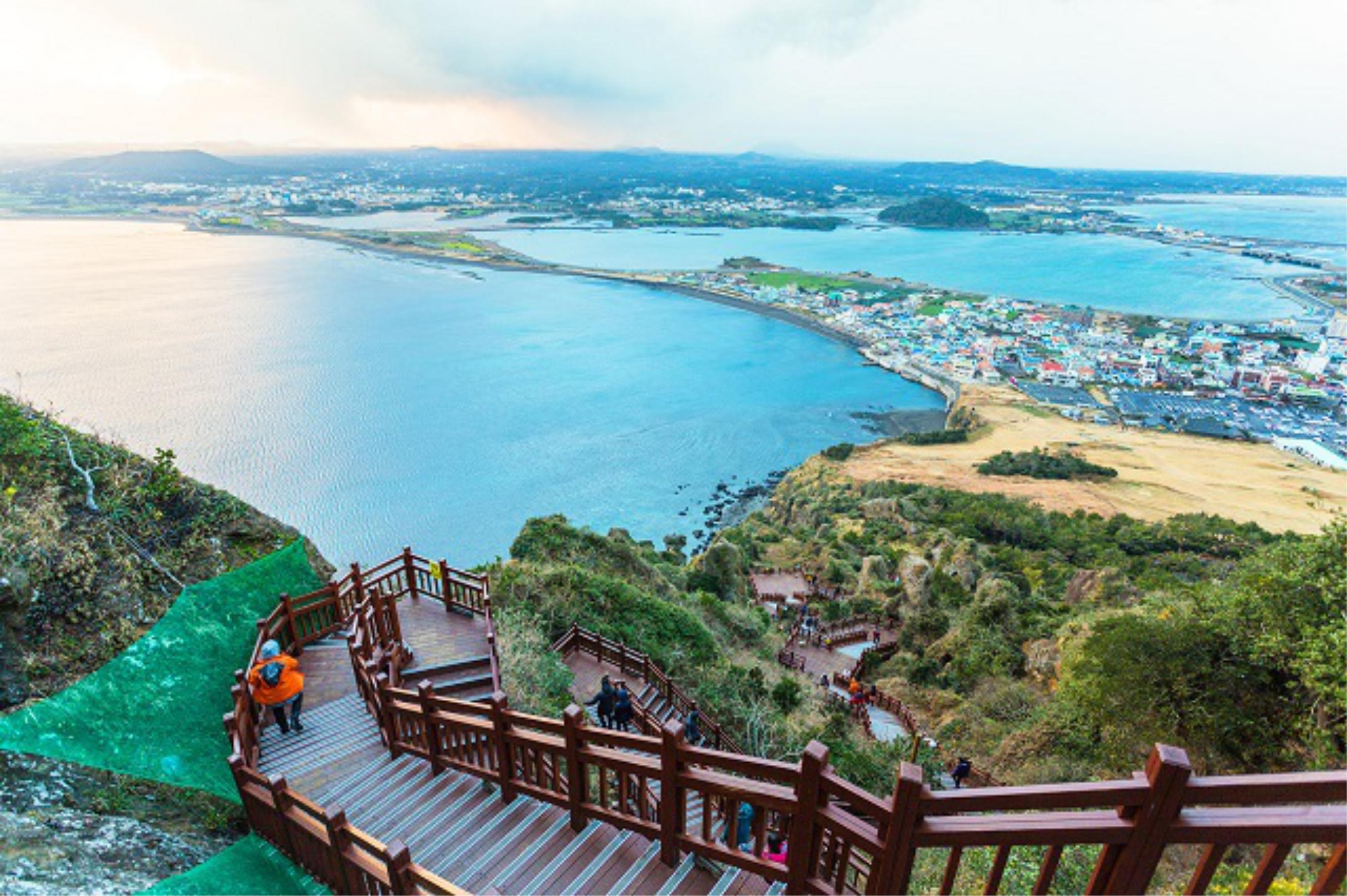 Ảnh mùa xuân trên đảo Jeju Hàn Quốc