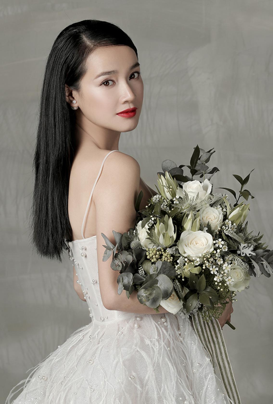 Hình ảnh cô dâu xinh đẹp trong ngày cưới