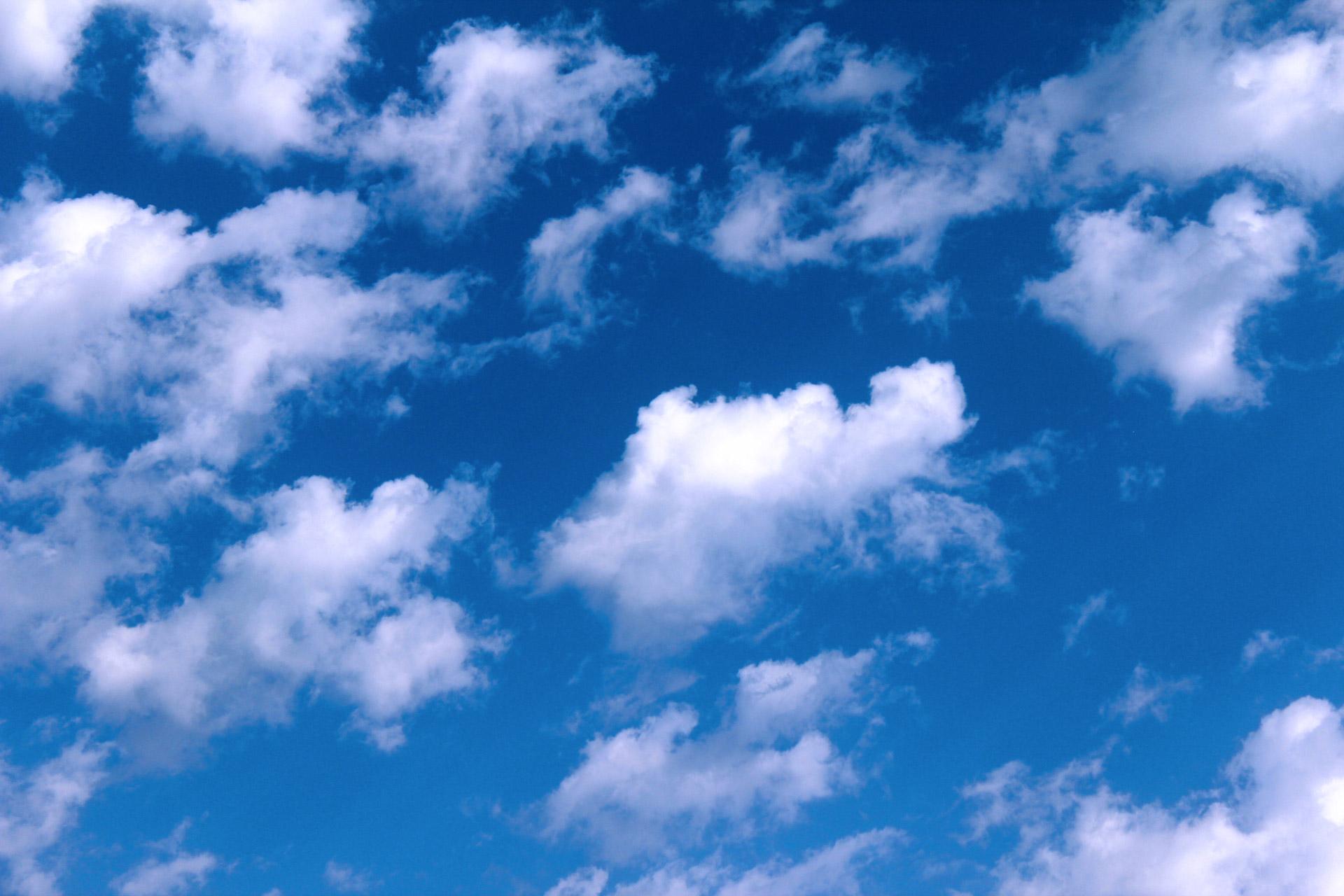 Ảnh những đám mây đang trôi