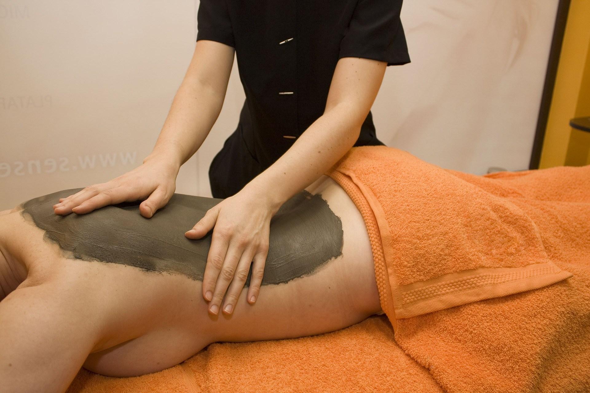 Ảnh thư giãn chăm sóc body tại Spa