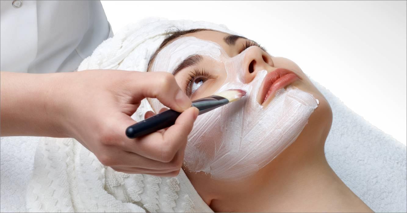 Hình ảnh chăm sóc da mặt tại Spa