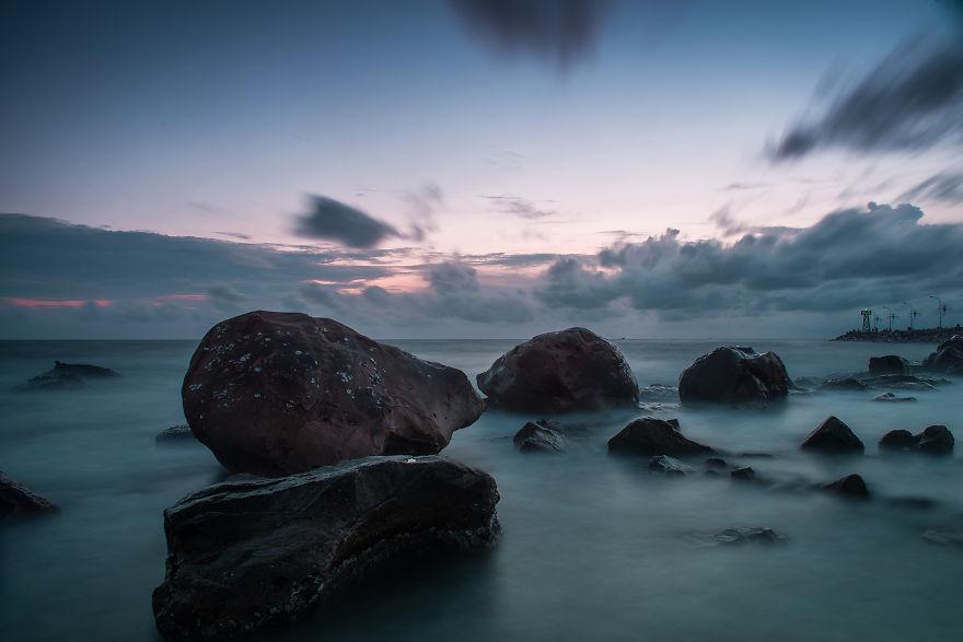 Ảnh bãi biển Dinh Cậu huyền ảo ở Phú Quốc