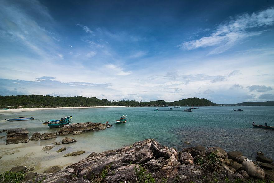 Ảnh bãi Khem - bãi biển đẹp nhất Phú Quốc
