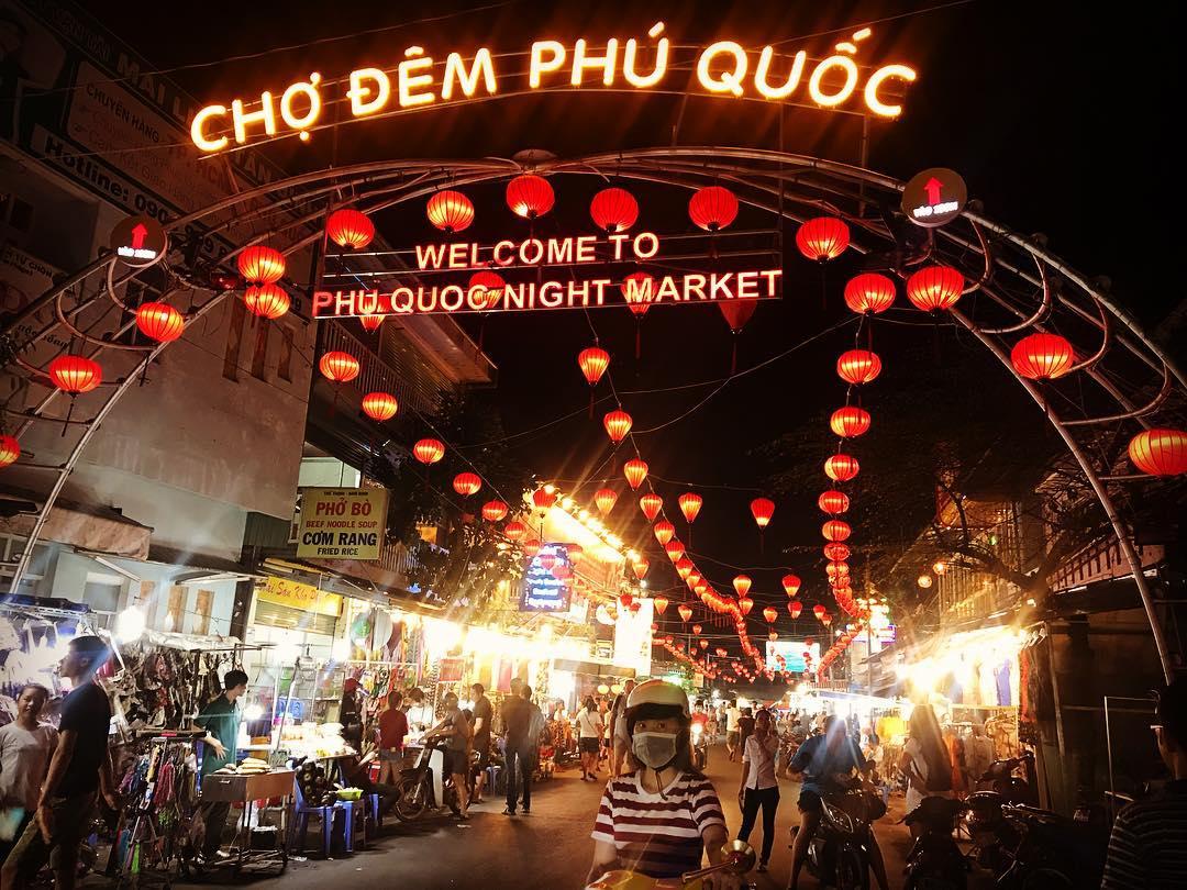 Ảnh chợ đêm Phú Quôsc