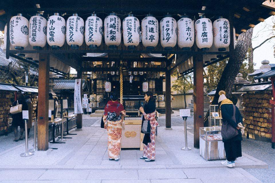 Ảnh cố đô Kyoto bình yên, giản dị nhưng vẫn đẹp đến nao lòng