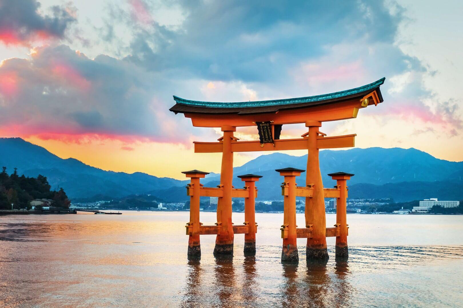 Ảnh cổng trời ở Nhật Bản