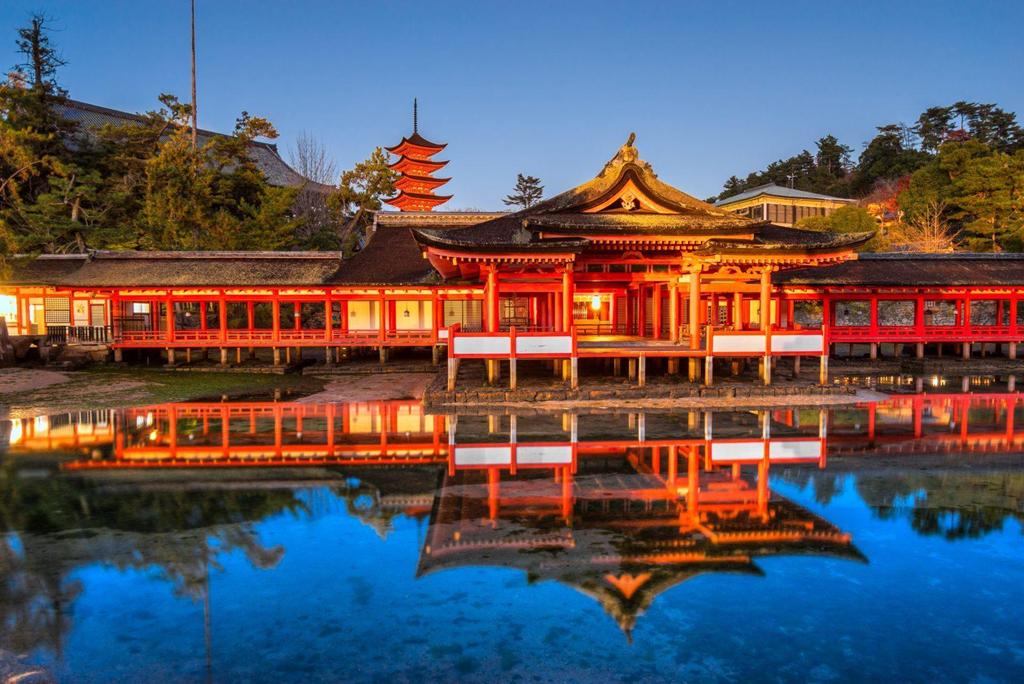 Ảnh đền chùa ở Nhật Bản đẹp quên lối về