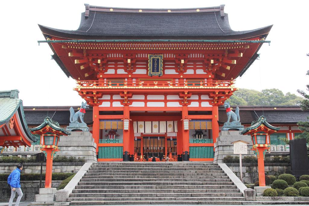 Ảnh đền Fushimi Inari Taisha đẹp nhất Nhật Bản