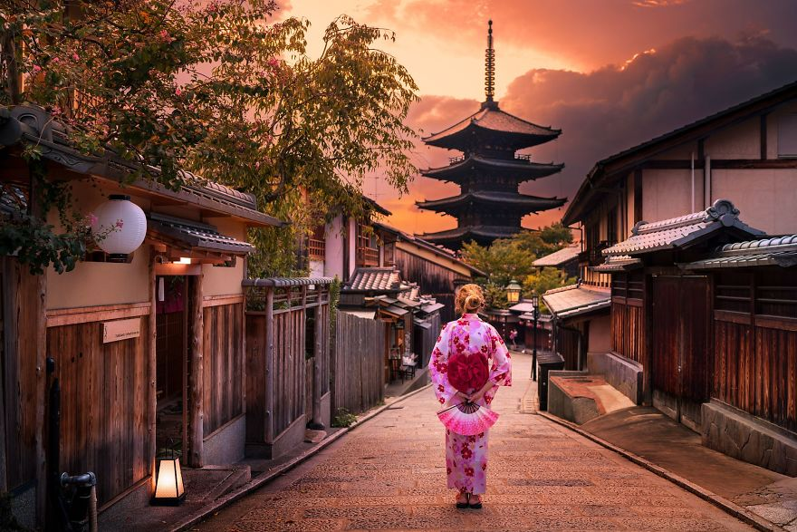 Ảnh đẹp đường phố Nhật Bản